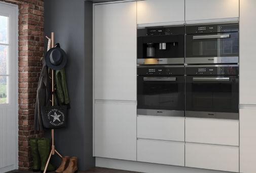 Jayline Supermatt Light Grey Handleless Kitchen Doors Grey Matt Handleless Kitchen Door Prices Matt J Pull Kitchen Doors